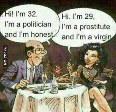 Sunt politician si sunt sincer!