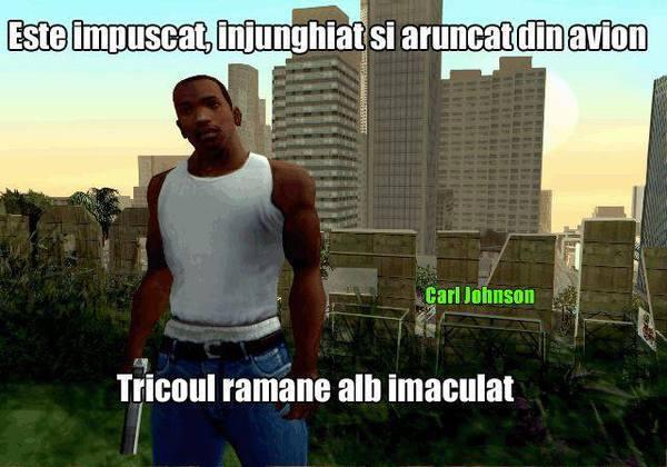Logica din GTA San Andreas